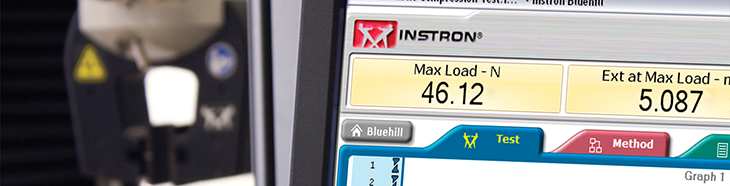 Instron Bluehill 3 Software banner